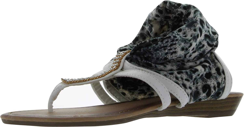 ANNA Women's Lion-18 Fashion Flat Sandals