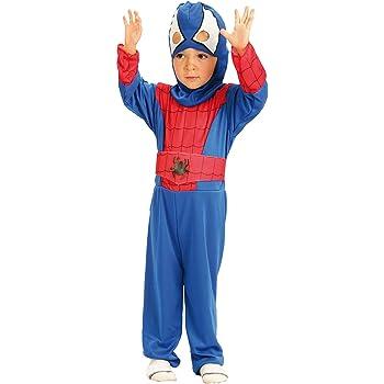 El Carnaval Disfraz Spiderman Bebe 2-4 años: Amazon.es: Juguetes y ...