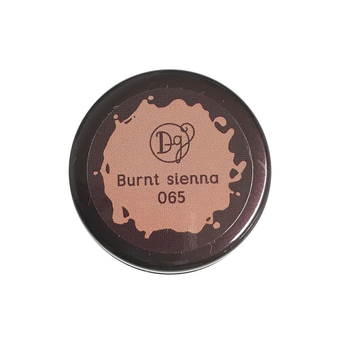 著者論理的香ばしいDECORA GIRL カラージェル #065 バーントシェンナ