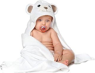 JoJo Asciugamano | Orsetto per Bambini EXTRA SOFFICE | Asciugamano da Bagno 100% in Cotone Naturale | Perfetto per la Docc...