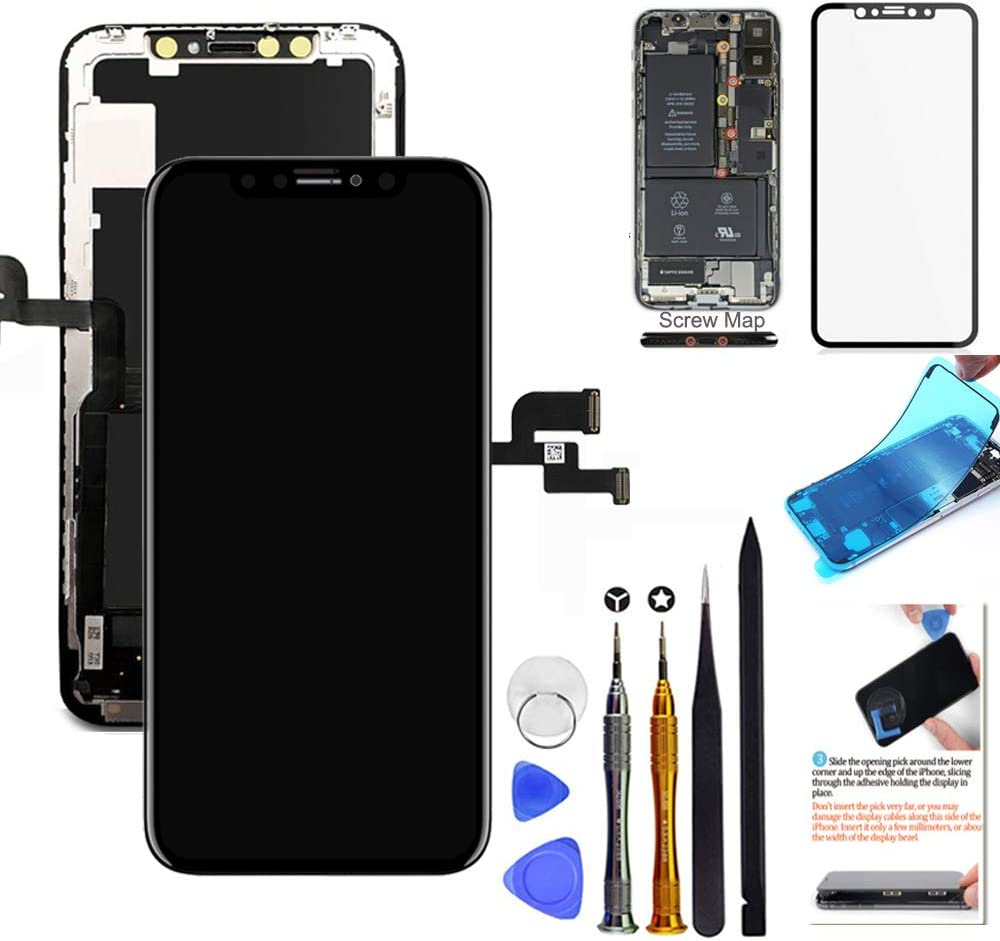 for iPhone X Screen Replacement Weekly update OLED 5.8 NOT Very popular inch Sc LCD Touch