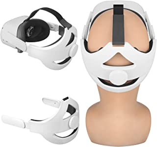 Esimen Adjustable Head Elite Strap for Oculus Quest 2 Headband with Cushion Pad Strap, Design Balance Weight, Reduce Press...