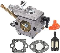 Mannial WT-38-1 Carburetor Carb fit STIHL FS50 FS51 FS61 FS61RE FS65 FS65AVRE FS85 FS90 FS96 Trimmer BG60 BG61 Blower Replace Walbro WT-38 WT-38B with Gasket & Fuel Filter