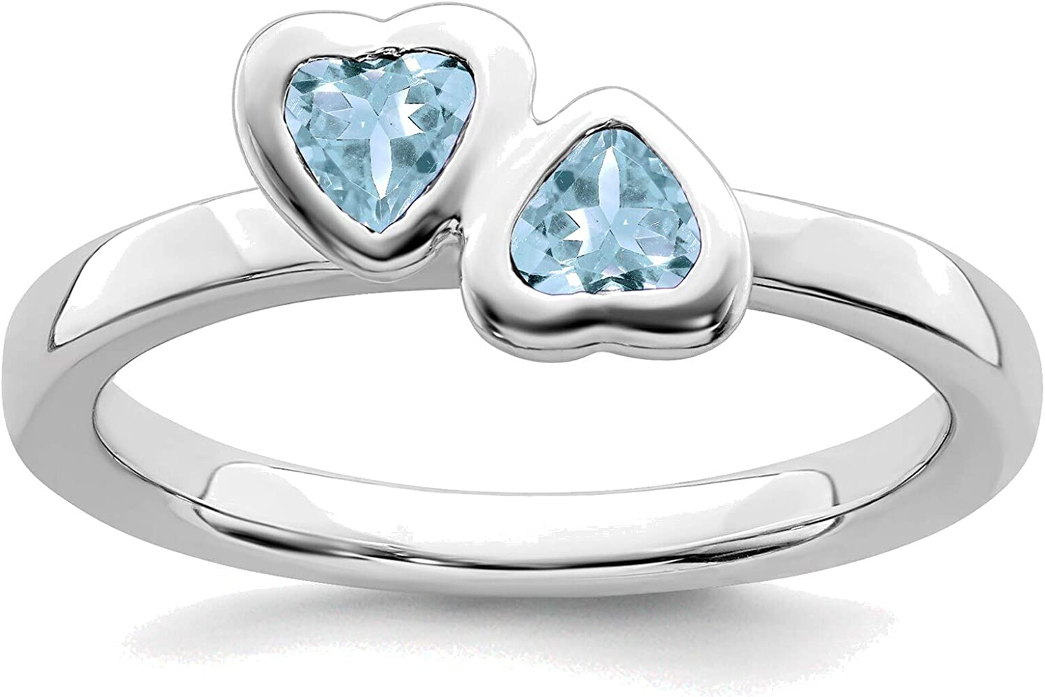 Bonyak Jewelry Solid Sterling Expressions Aquam Stackable Silver Online limited product gift