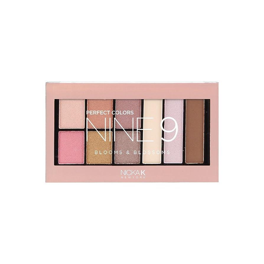 マルクス主義者他にポーク(6 Pack) NICKA K Perfect 9 Blooms & Blossoms Palette (並行輸入品)