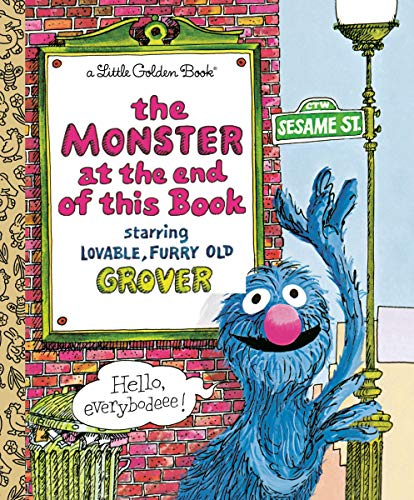 The Monster at the End of This Book (Hardcover)  $0.98 at Amazon
