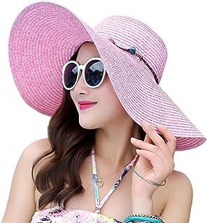 NW 1776 Summer Sun Protection Sun Hat, Women's Beach Straw Hat