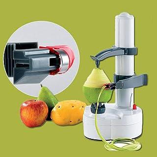 WUPYI2018 Pelador eléctrico, pelador de Patatas, Verduras, Frutas, pelador, pelador de Manzana, automático
