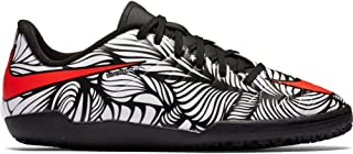 Kids Jr Hypervenom Phelon II NJR IC Indoor Soccer Shoe (10.5C) Black/White