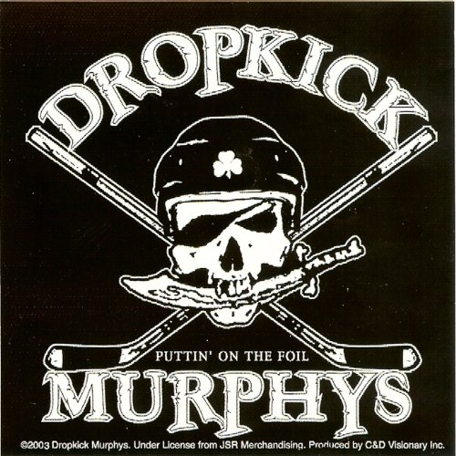 C&D Visionary Dropkick Murphys - Hockey Skull Sticker