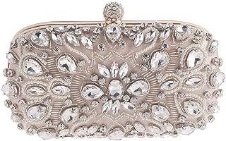 Honana Party bags for Women Women Clutches Crystal Evening Bag Clutch Purse Bags Special Occasion Evening Handbags Women's Fashion
