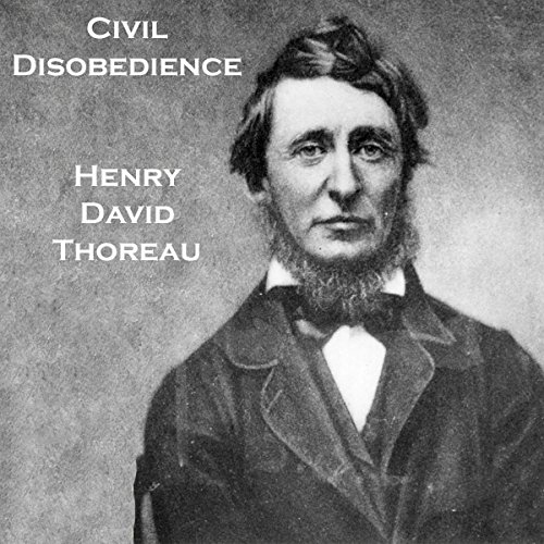 Civil Disobedience audiobook cover art