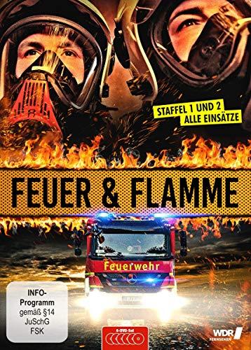 Feuer & Flamme: Mit Feuerwehrmännern im Einsatz - Staffel 1 und 2 [6 DVDs]
