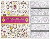 infactory Weihnachten-Malbuch: Malbuch für Erwachsene Jingle Bells mit 32 Wintermotiven (Ausmalbücher für Erwachsene)
