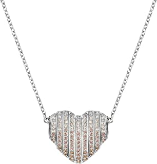 Swarovski Women's Rhodium Plated Necklace - 5181467