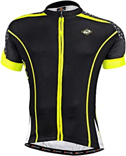 NUCKILY Women's Cycling Jersey Bike Shirt Breathable Bicycle Top