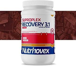 Nutrinovex Suproplex Recovery 3.1. con Glutamina. Minerales y Vitaminas (Chocolate. 1000 g)