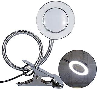 Lámpara estática para la protección de los ojos LED USB, lámpara LED USB portátil, luz cálida y clip portátil y lámpara de cuello de cisne flexible para maquillaje Tattoo Tool Tattoo Tattoo
