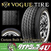 Vogue Custom Built Radial Touring II 225/60R16 98H SL WG イエローリボン&ホワイトリボン ラジアルタイヤ
