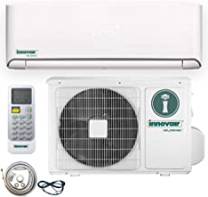 Innovair Air Conditioner Inverter Ductless Wall Mount Mini Split System Heat Pump Full Set with Kit (12000 BTU 208~230V Heat Pump)