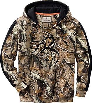 Legendary Whitetails Mens Camo Outfitter Hoodie BG Field Camo Medium