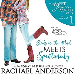 Stick in the Mud Meets Spontaneity audiobook cover art