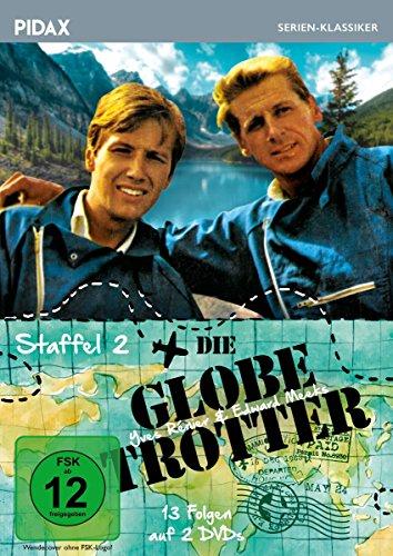 Die Globetrotter, Staffel 2 / Weitere 13 Folgen der Kult-Abenteuerserie (Pidax Serien-Klassiker) [2 DVDs]