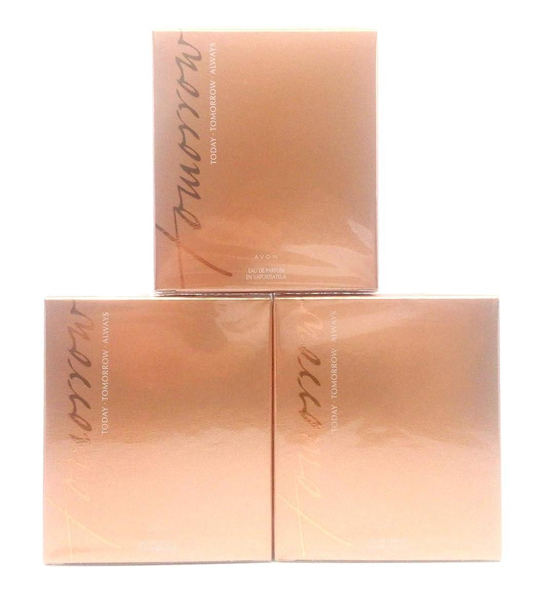 摩擦変化するラインナップ3 x AVON Today TOMORROW Always For Her Eau de Parfum 50ml