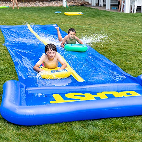 Product Image of the BACKYARD BLAST - 30' Waterslide with Splash Zone - Easy to Setup - Extra Thick...