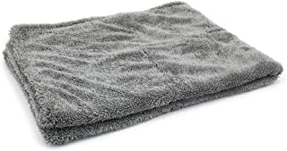 [Dreadnought] Microfiber Car-Drying Towel, Superior Absorbency for Drying Cars, Trucks, and SUVs, Double-Twist Pile, One-Pass Vehicle-Drying Towel (Original (20