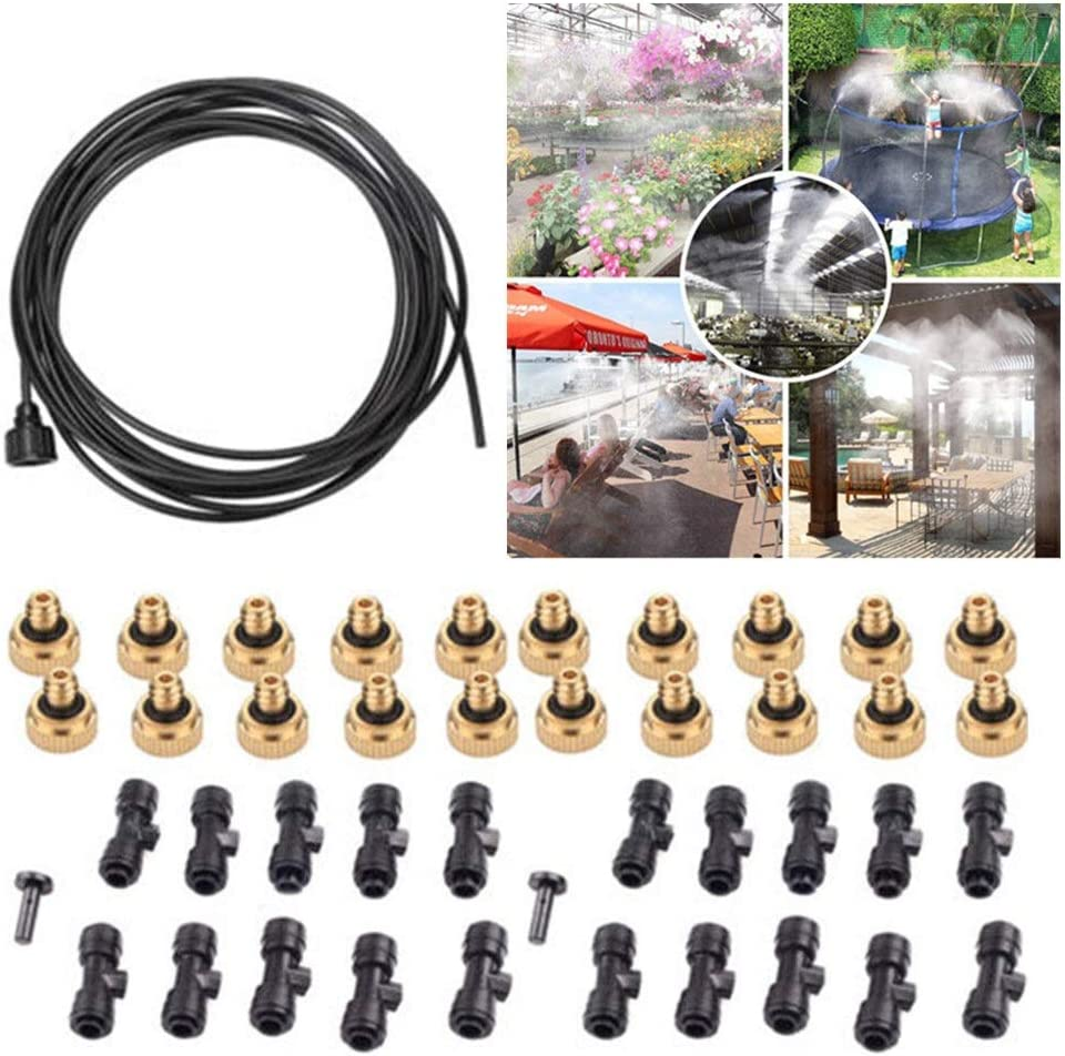 Z.L.FFLZ Spring new work Water Spray Kit 30FT Outdoor Misting 9M Cooling Ranking TOP8 System