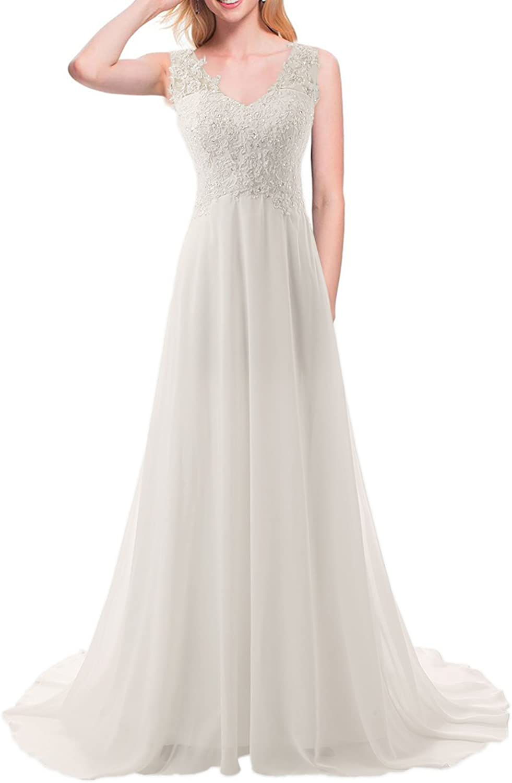 JAEDEN Wedding Dress Beach Bridal Dresses Lace Wedding Gown A Line Bride Dress