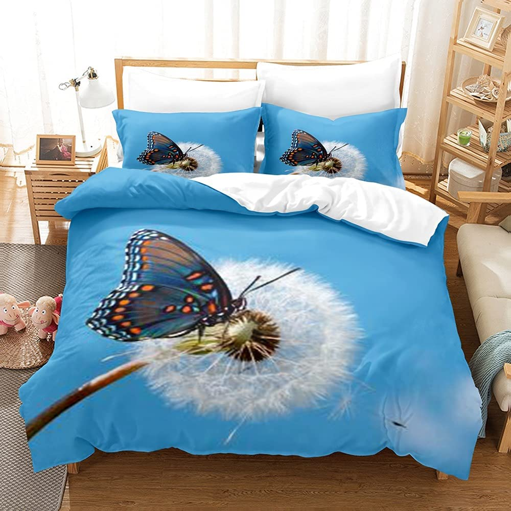 tehui Dedication Trust Butterflies Pattern Bedding Cozy Line Home Fashions Microf