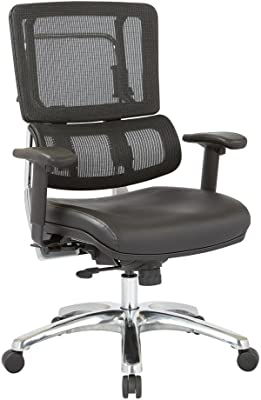 Amazon.com: Yaheetech White Desk Chairs with Wheels/Armrests ...
