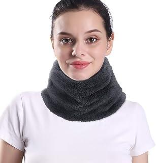 Arcweg Neck Warmer Winter Thermal Fleece Neck Tube for Men Women Drawstring Elastic Soft Neck Scarf Breathable for Outdoor...