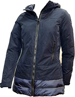 HOX chaquetón mujer Color Dark Azul xd4312con Capucha y Cremallera