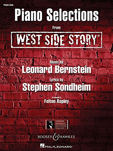 West Side Story: Piano Selections. Klavier.: Piano Solo Selections