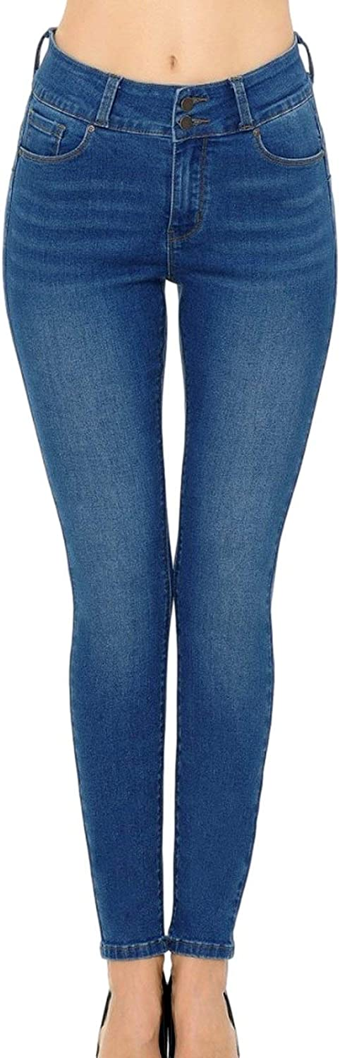 wax jean discount Women's Max 60% OFF High-Rise Jeans Push-Up Skinny Stretch