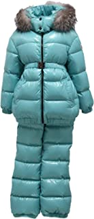 MONCLER 8509Y Completo Sci Girl Bimba ESBLY Down Padded Snow Set