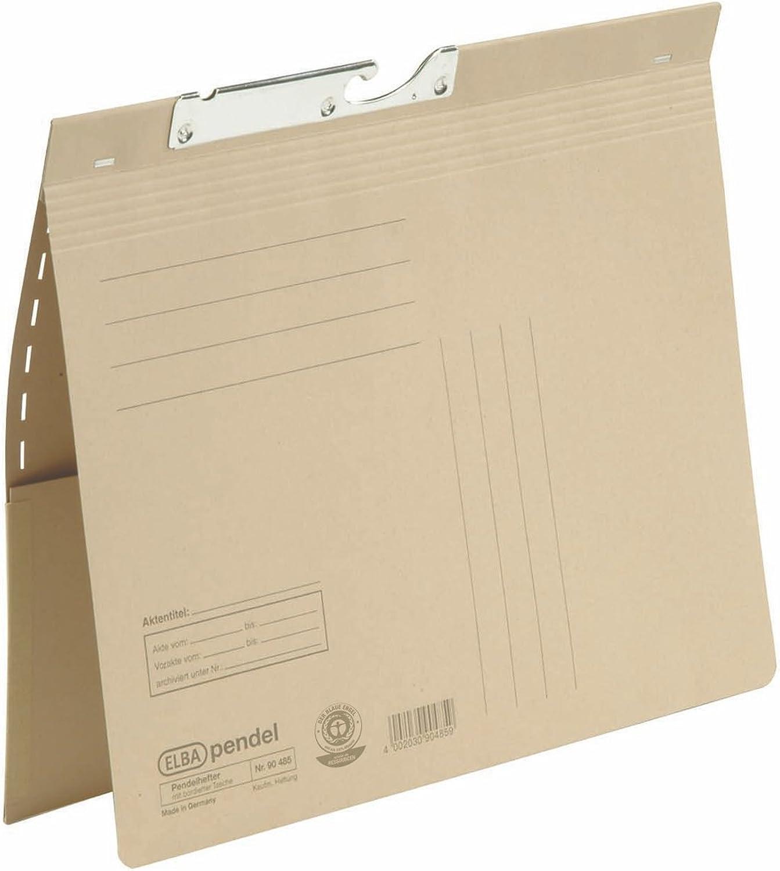 ELBA 100570028 Pendelhefter 50er 50er 50er Pack aus 250 g m² Manilakarton (recycling) mit kaufmännischer Heftung und bortierter Tasche naturbraun B00D78ATZ8   Die erste Reihe von umfassenden Spezifikationen für Kunden  d9ab58