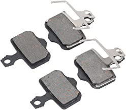 4 Pairs NVP-02 Universal Bicycle Bike Cycling Resin Disc Brake Pads for ZOOM BE
