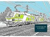 Chemin de fer Européen: Livre de coloriage adulte