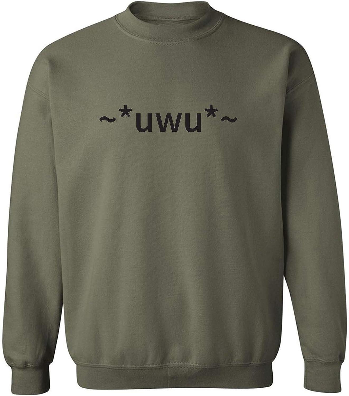 zerogravitee uwu Crewneck Sweatshirt