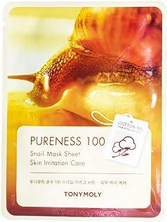 Tony Moly Pureness 100 Face Mask Sheet, Snail