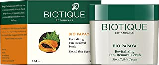 Pack of 2 - Biotique Bio Papaya Revitalizing Tan-removal Scrub - 75 G