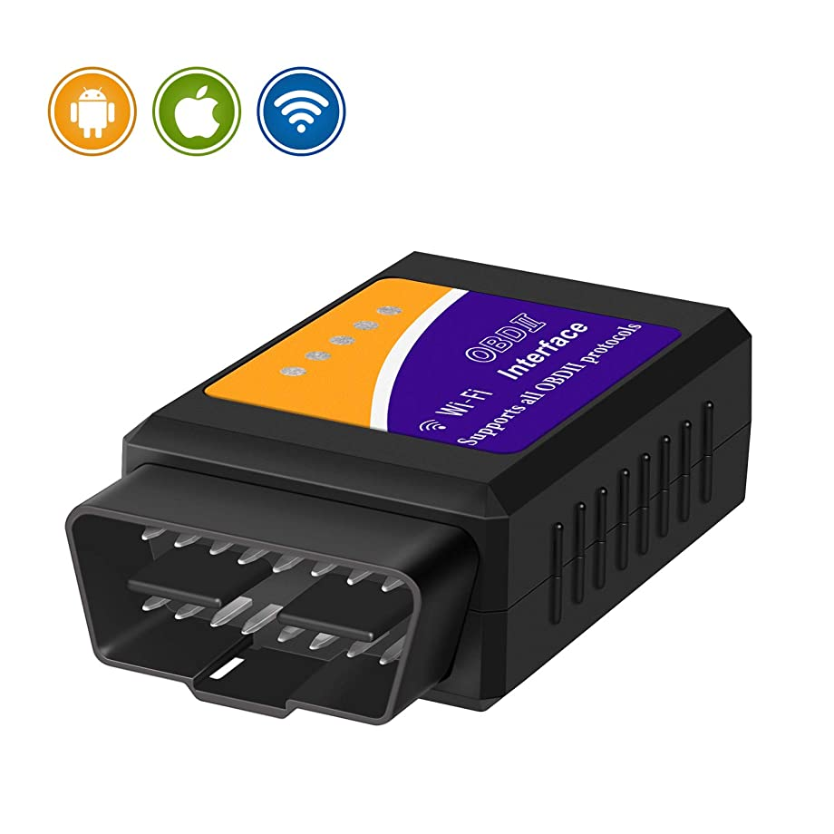 KINGBOLEN WiFi OBD2 OBDII Auto Diagnostic Scanner Tool Adapter for iPhone/Android/PC obd2 Scanner OBD2 Code Reader …