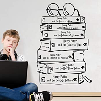 Wandtattoo Wohnzimmer Harry Potter Zitat Buch Glas Wandaufkleber Bibliothek Hogwarts Buch Inspirierend Zitat Wandtattoo Amazon De Baumarkt