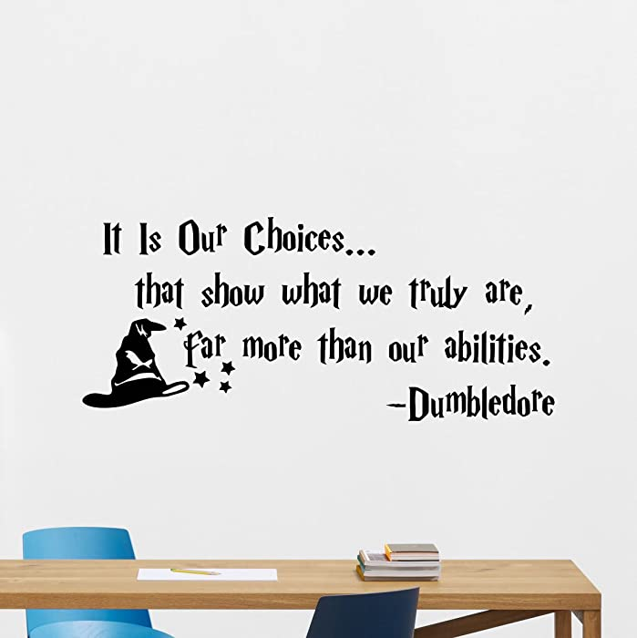 The Best Harry Potter Quote Decor