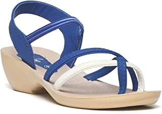 PARAGON Women Blue Solea Casual Sandals