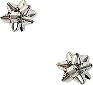 Kate Spade Bourgeois Bow Stud Earrings Boxed, Silvertone